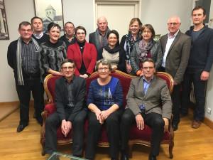 L'équipe municipale de Domfront-en-Poiraie