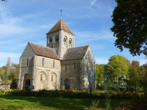 Eglise Notre-Dame-sur-l'Eau à Domfront en Poiraie