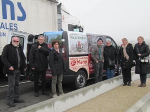 comité de jumelage Domfront- Burgwedel en déplacement décembre 2015