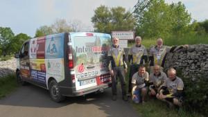 Les Ecureuils du Bocage (VTT) dans le Quercy pour la Maxiverte 2016