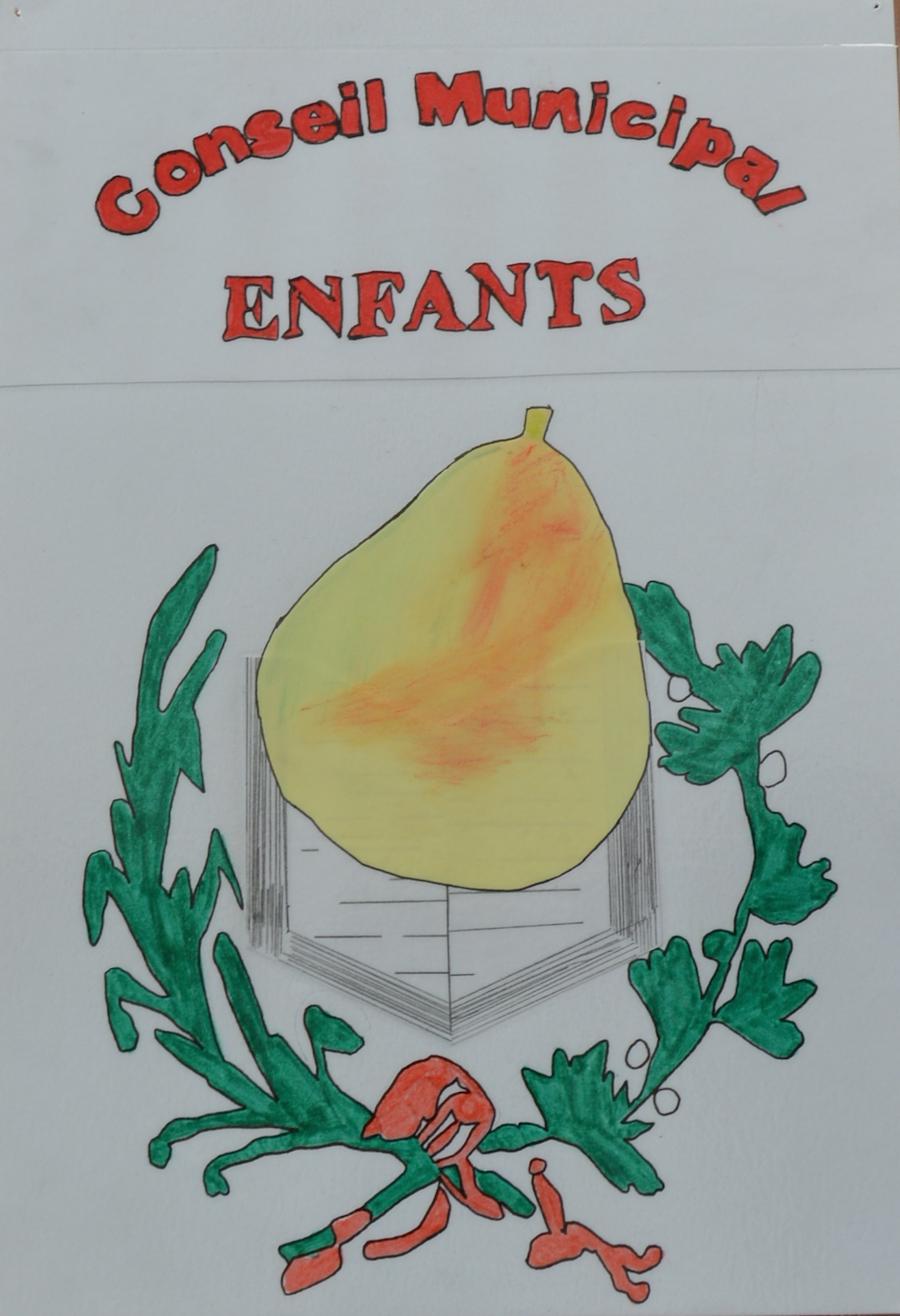 logo du conseil municipal jeune de Domfront