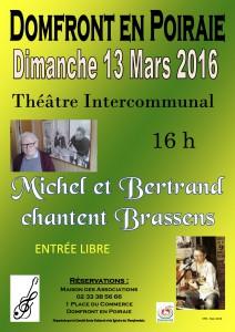 affiche Michel et Bertrand