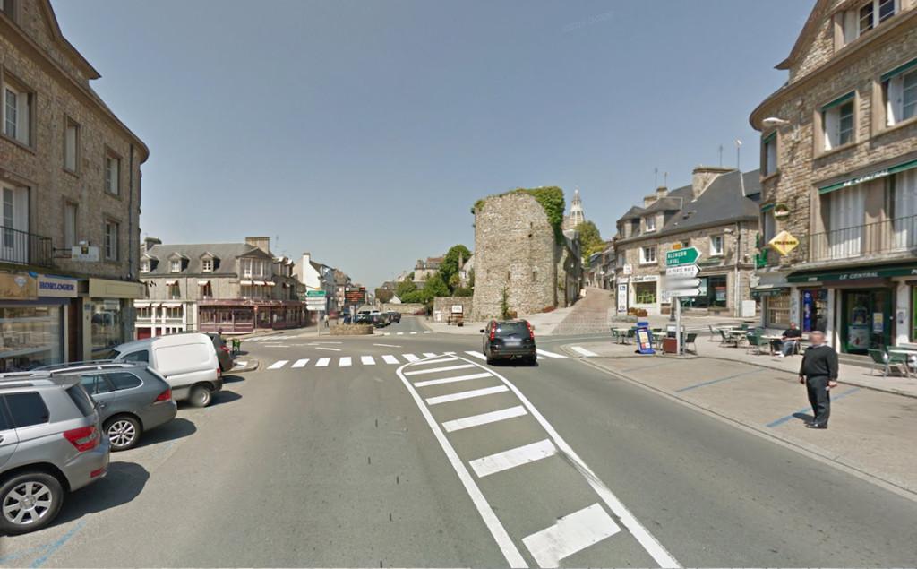 le carrefour de la porte d'Alençon tel qu'il est aujourd'hui