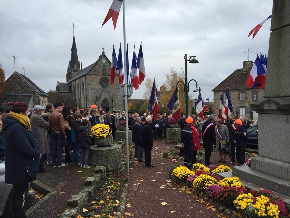 Lors de la cérémonie du centième anniversaire de l'Armistice, en 2018.