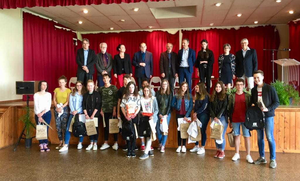 Lauréats de la 2e édition (2018).
