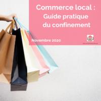 Commerce local _ Guide pratique du confinement Novembre 2020