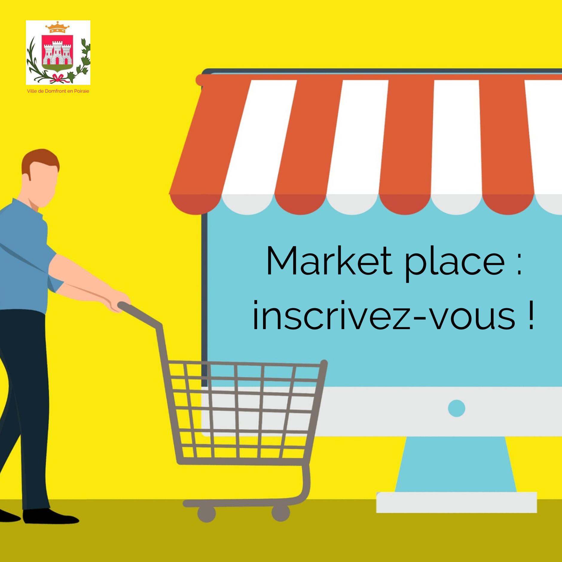 Copie de Market place _ inscrivez-vous !
