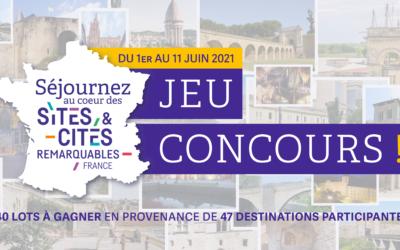 Sites & Cités Remarquables  : tentez de remporter un séjour à Domfront en Poiraie !