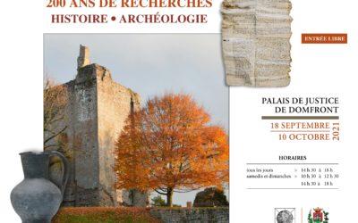 Château de Domfront : des objets et documents médiévaux présentés au public