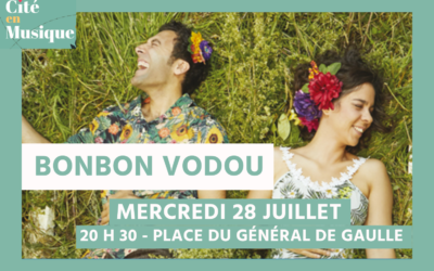 Mercredi 28 juillet – Concert de Bonbon Vodou