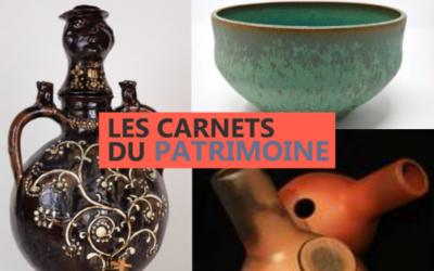 Carnets du patrimoine : découvrez la céramique sous toutes ses formes jusqu'au 29 septembre