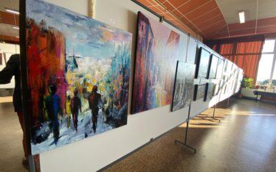 Les lauréats du 19e salon de peinture