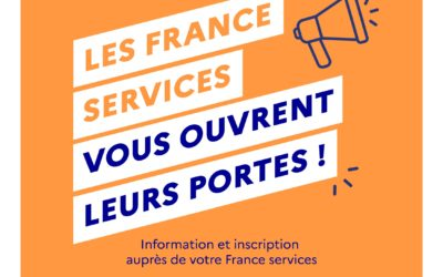 Journées portes ouvertes à l'Espace France services du 11 au 16 octobre